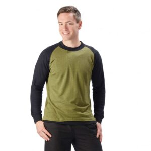 Hemp/OC Long Sleeve Baseball Top