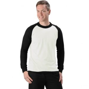 Men's Hemp/OC Long Sleeve Baseball Top