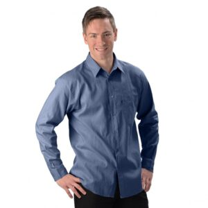Men's Hemp/OC Long Sleeve Dress Shirt