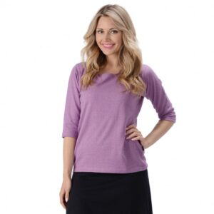 Women's Hemp 3/4 Sleeve T-shirt