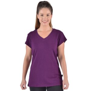 Women's Hemp/OC V-neck Top