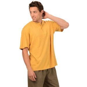 Men's Classic Hemp Henley T-Shirt