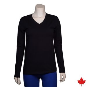Women's Hemp Stretch Long Sleeve Top