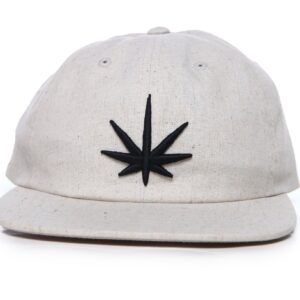 Black Leaf Dad Cap