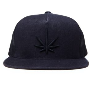Black Leaf Trucker Cap