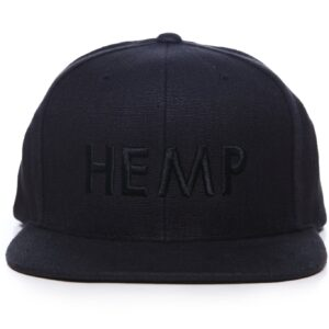 HEMP Black Kind Cap