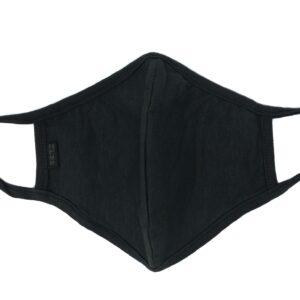 Reusable Black Hemp Mask