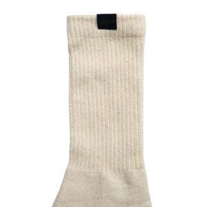 Hemp Label Crew Socks