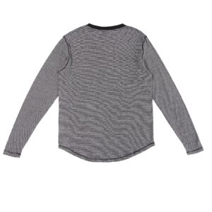Men's Micro Stripe Long Sleeve T-Shirt
