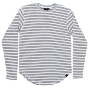 Men's Stripe Long Sleeve T-Shirt