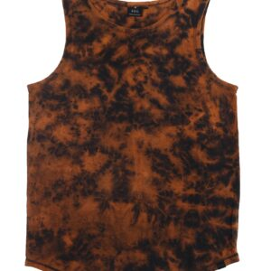Men's Earthy Tie-Dye Tank Top