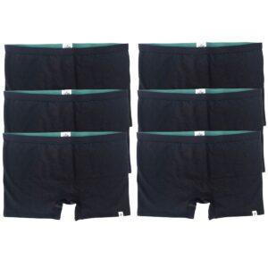 Women's Boy Shorts Underwear x6 Pack